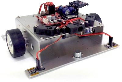 ロボット2駆Basic(車体+センサ+ユニバーサルドライバ)
