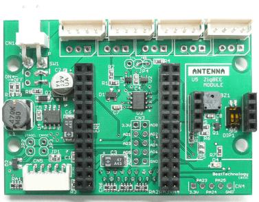 SAM7S I/Oボード(RS485)